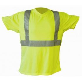 Tee-shirt fluo jaune Haute Visibilité