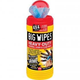 BIG WIPES - LINGETTES SUPER NETTOYANTE X 80 Divers
