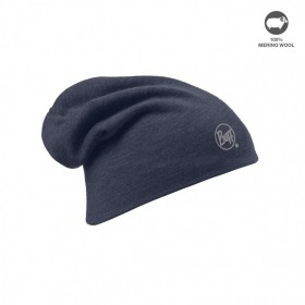 MERINO WOOL THERMAL HAT BUFF®SOLID NAVY Tour de cou BUFF 111537.787.10.00