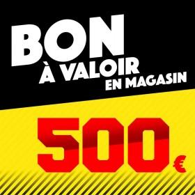 CHÈQUE CADEAU 500€ Chèques cadeaux