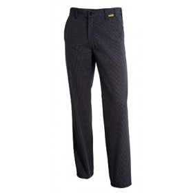 Pantalon COOKSPIRIT coupe droite carreaux 2003 Pantalon 20033314487