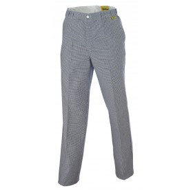 Pantalon pied de poule PREMIUM bleu 2100