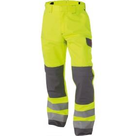 Manchester (200819) Pantalon multinorm haute visibilité bicolore avec poches genoux