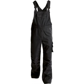 Cotte à bretelles BOLT en canvas avec poches genoux 400149