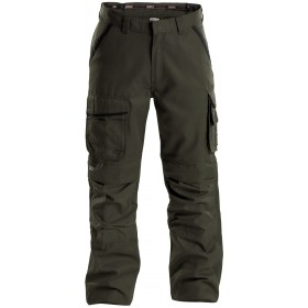 CONNOR pantalon poches genoux en canvas