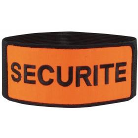 Brassard sécurité orange