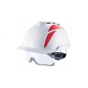 Casque de sécurité V-Gard 930 ventilé avec surlunettes intégrées Casque de chantier V-Gard 930