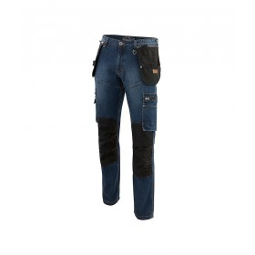 Jean genouillères DENIM avec poches holster New Collections PULS 03069999160