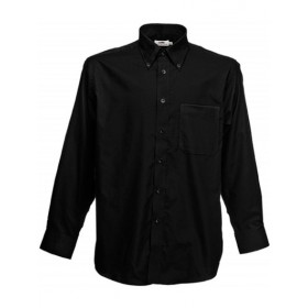 FOL Oxford Shirt longsleeve noir Traditionnel