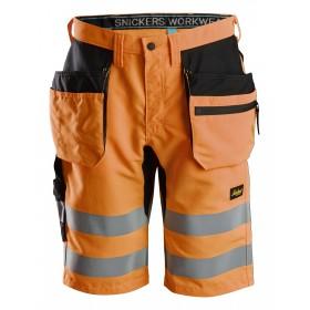 Short+ haute visibilité avec poches holster, Classe 1 6131 Haute Visibilité 6131