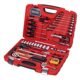 Assortiment d'outils en coffret, 75 pièces