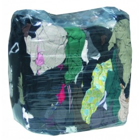 Chiffons en sac pressé Légers souples demi-clairs
