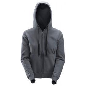 2806 Sweat-shirt à capuche zippé pour femmes