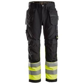 AllroundWork, Pantalon haute visibilité avec poches holster, Classe 1 6233 Haute Visibilité 6233