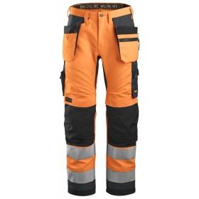 6230 Pantalon de travail haute visibilité avec poches holster Pantalons 6230