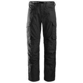 6801 Pantalon de service avec poches pour genouillères Pantalons 6801