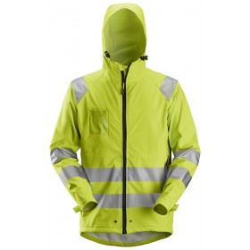 8233 Veste de pluie PU haute-visibilité Classe 3