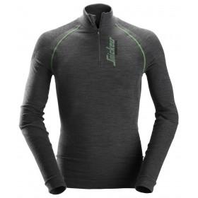9441 T-shirt à manches longues en laine de mérinos, FlexiWork Hiver 9441