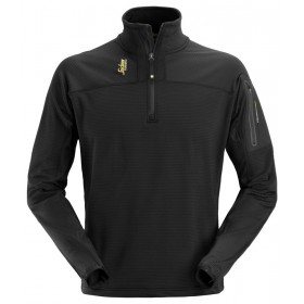 9435 Pull-over ½ zip en micro fleece Body Mapping FLEECE