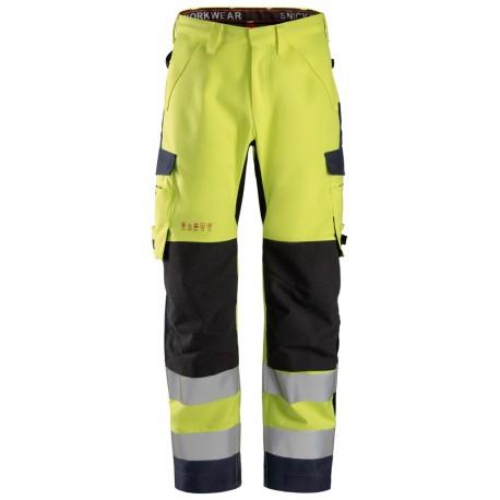 ProtecWork, Pantalon imperméable en Shell, Classe 2 6563 Ignifugé / Antistatique / Multi-norme 6563