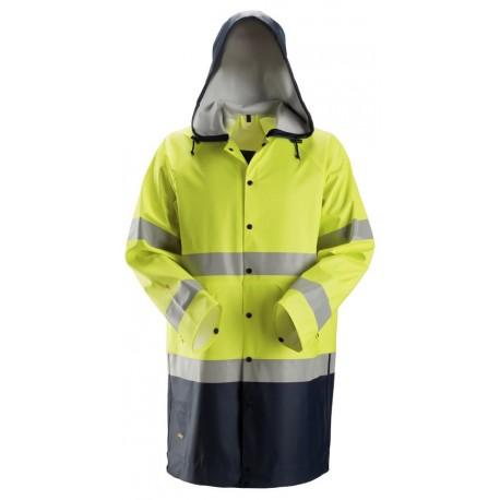 ProtecWork, Veste de pluie PU, Classe 3 8261 Ignifugé / Antistatique / Multi-norme 8261