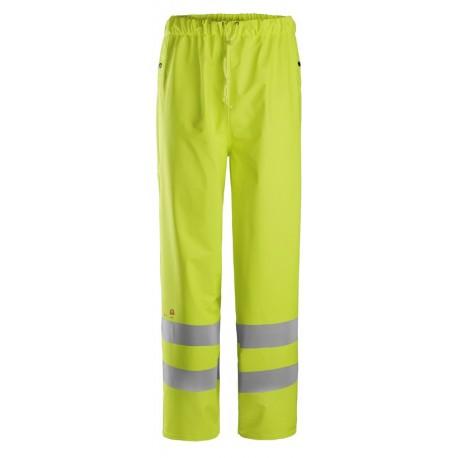 ProtecWork, Pantalon de pluie PU, Classe 2 8267 Ignifugé / Antistatique / Multi-norme 8267