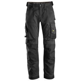 6351 Pantalon de travail en tissu extensible à la coupe large Pantalons
