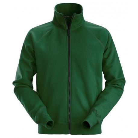 2886 Sweat-shirt zippé pleine longueur Sweatshirts-Polar