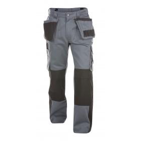Seattle (200428) Pantalon multi-poches bicolore avec poches genoux 245 gr
