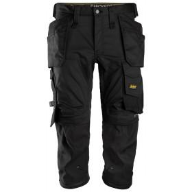 6142 Pantacourt en Stretch avec poches holster, AllroundWork PANTACOURTS