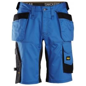 6151 Short de travail à la coupe large en tissu extensible avec poches holster