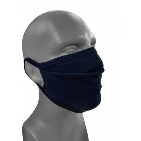 MASQUE LAVABLE 100% COTON NOIR OEKO-TEX FAIR WEAR 3M