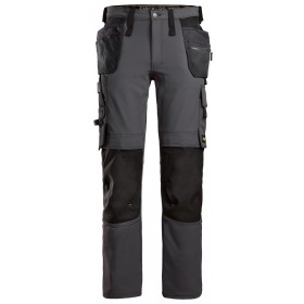 SNICKERS AllroundWork, Pantalon en tissu extensible avec poches holster 6271 Pantalons 6271