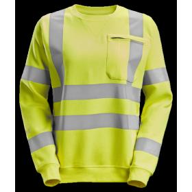 SNICKERS Sweat-shirt pour femme, haute visibilité, Classe 3/2 2876