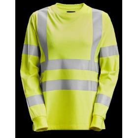 SNICKERS T-shirt à manches longues pour femme, haute-visibilité, Classe 3/2 2476 Femmes 2476