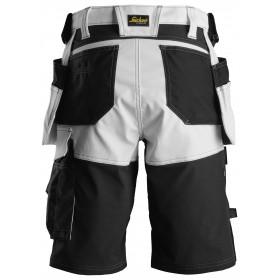 6147 AllroundWork, Short avec poches holster pour femme en tissu extensible