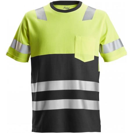 2534 AllroundWork, T-shirt, haute visibilité, Classe 1