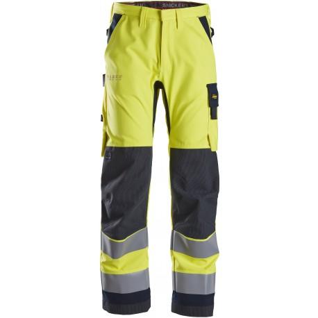 6360 ProtecWork, pantalon de travail, haute visibilité, Classe 2