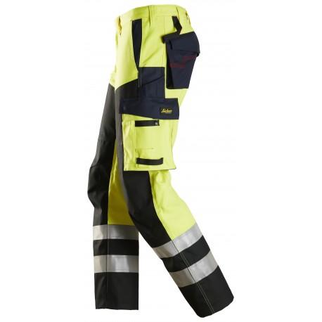 6365 ProtecWork, Pantalon avec au-dessus de cuisses renforcé, haute visibilité, Classe 1