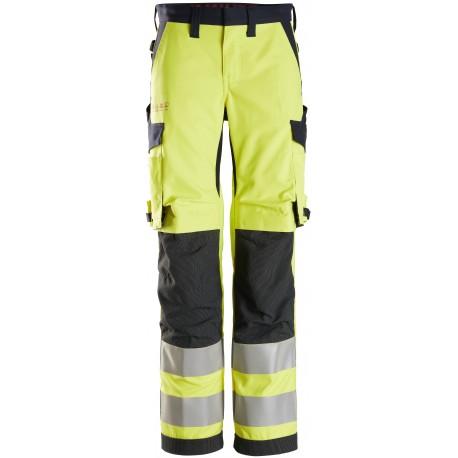 6760 ProtecWork, Pantalon haute visibilité pour femme, Classe 2