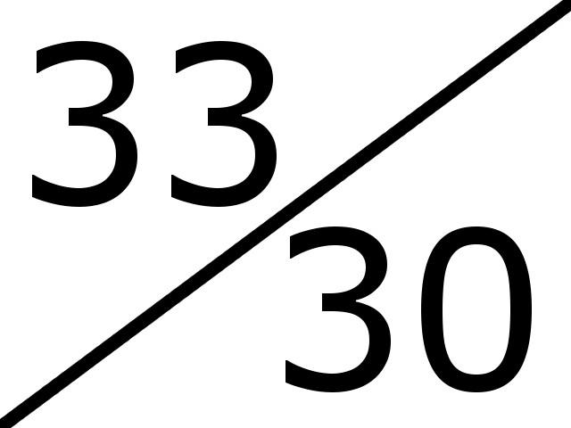 33-30