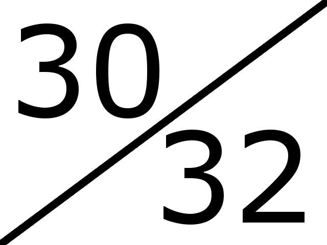 30-32