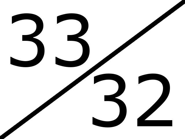 33-32