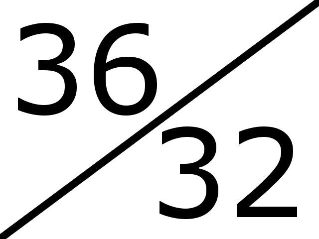 36-32
