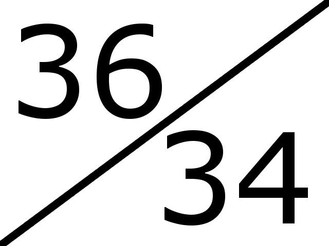 36-34
