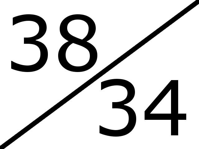 38-34