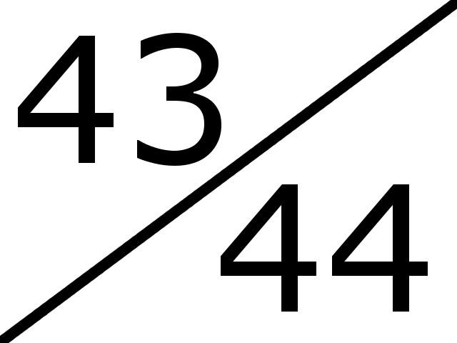 43-44