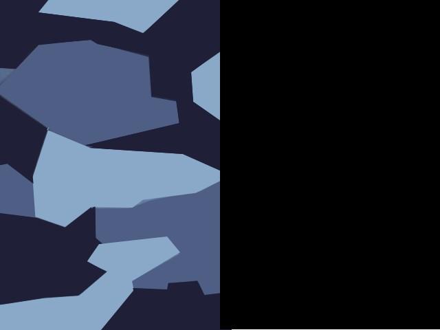 Bleu Camouflage/Noir